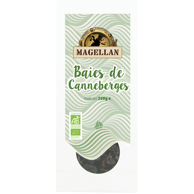 CANNEBERGES POMME BIO 250G
